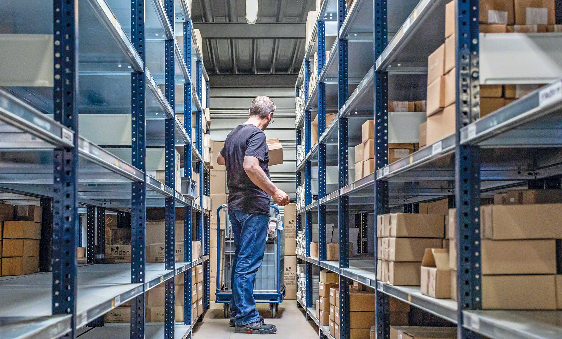 La gestion de stock est une opération qui consiste à organiser et à contrôler les stock de l'entrepôt