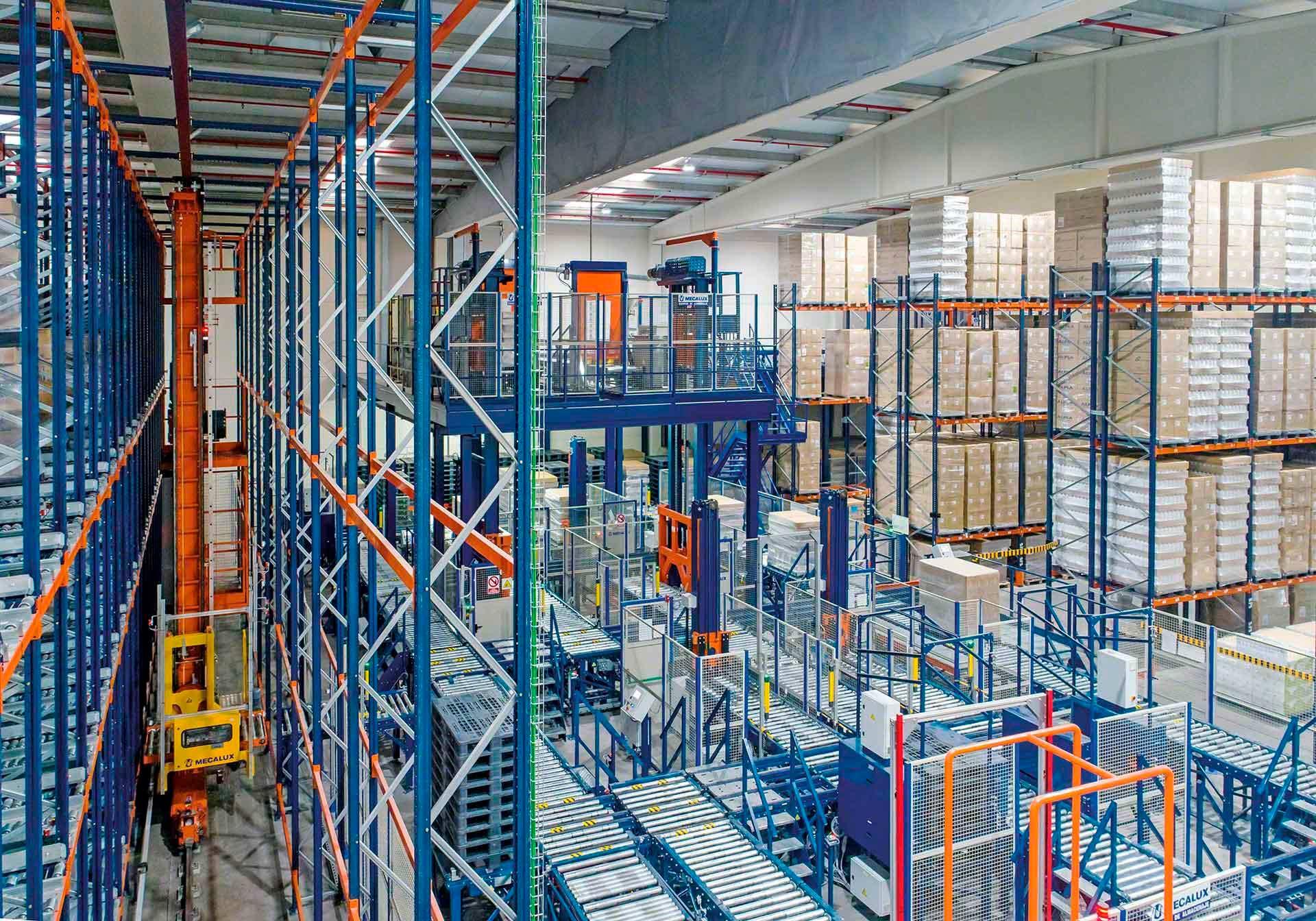 L'entrepôt robotisé à l'ère de la logistique 4.0