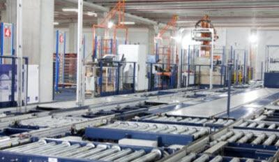 Stockage automatisé pour palettes : Nupik