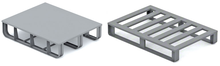 Les palettes métalliques sont surtout utilisées dans l'industrie métallurgique et automobile