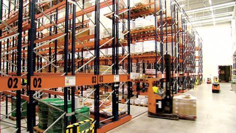 Havi Logistics développe son potentiel logistique grâce aux systèmes Mecalux