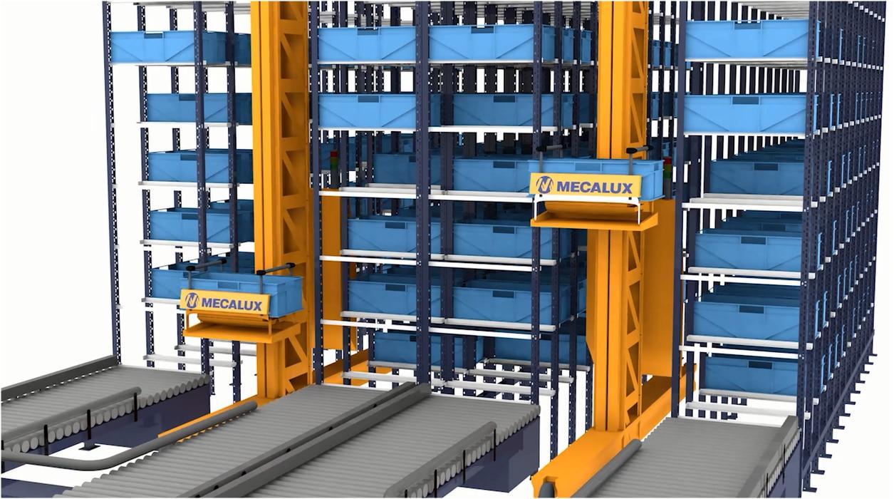 Miniload – Magasin automatique pour charges légères