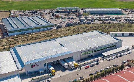 Capacité et rentabilité maximale de l'entrepôt frigorifique automatique de Cárnicas Chamberí