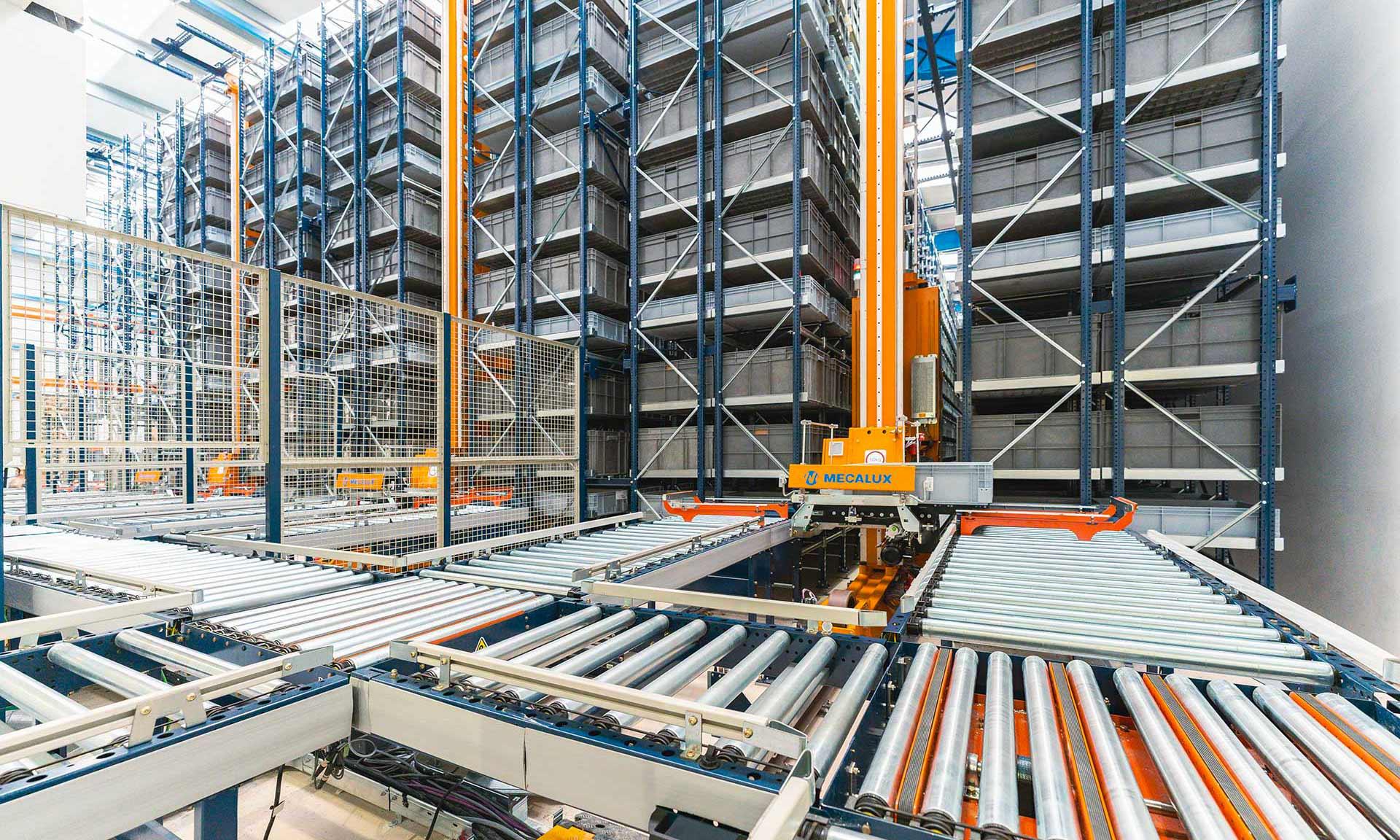 Normagrup : une logistique éclairée par l'automatisation